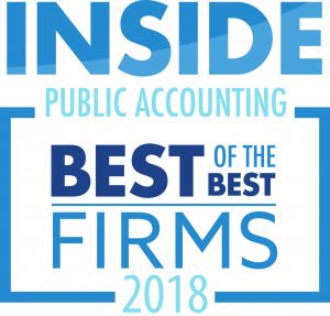2018 IPA Best of the Best Firm.