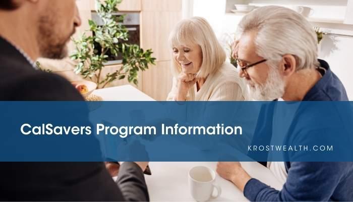 CalSavers Program Information