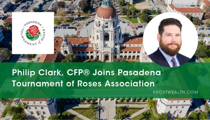 Philip Clark, CFP® Joins Pasadena Tournament of Roses® Association