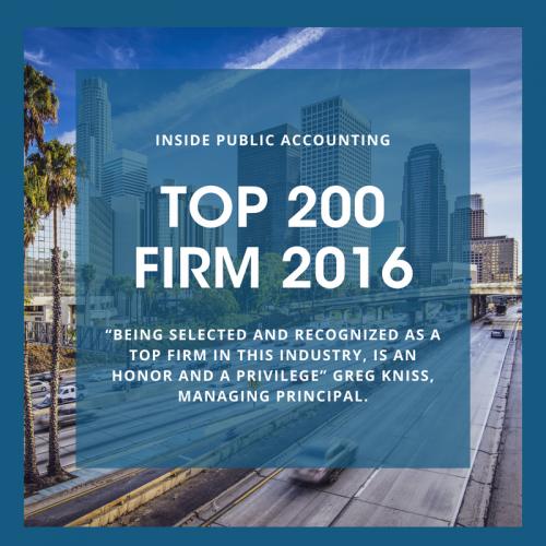 IPA Top 200 Firm 2016
